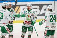 Sedan ett antal spelare och ledare i SHL-klubben Rögle testats positivt för covid-19 skjuts tisdagens hemmamatch mot Malmö upp. Arkivbild.