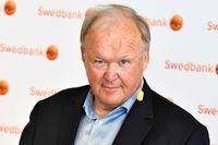 Göran Persson, socialdemokratisk statsminister 1996–2006 och ordförande i storbanken Swedbanks styrelse sedan i juni, är kritisk mot den rödgröna regeringens planer på en bankskatt. Arkivbild