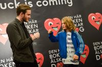 "Felix ""Pewdiepie"" Kjellberg tillsammans med en beundrare."