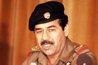 Saddam Hussein, 1980.