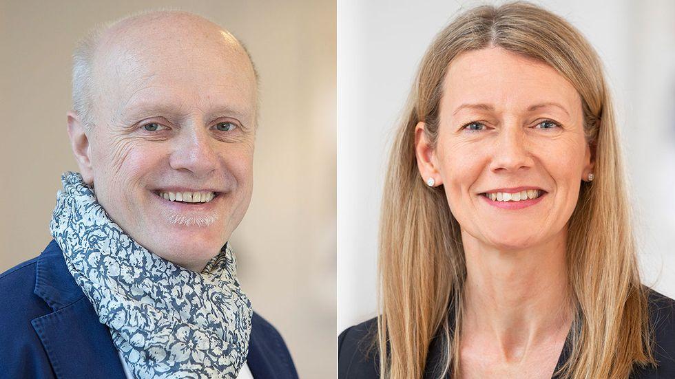 Hans Sundström och Anna Clara Törnvall Wittgren.