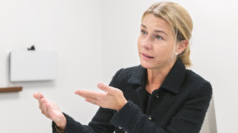 Arkivbild: Lena Sellgren, chefsekonom Business Sweden.