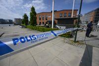 Ett misstänkt farligt föremål har undersökts i SVT-huset i Västra hamnen i Malmö. Det visade sig att föremålet var ofarligt.