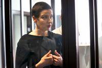 Maria Kolesnikova döms till elva år i fängelse. Arkivbild.
