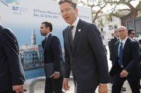 Eurofinansministrarnas mötesordförande Jeroen Dijsselbloem. Arkivbild.