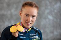 Tove Alexandersson lämnade orienterings-VM i Norge med tre guld. Arkivbild.