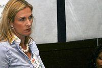 Jennifer Brown föreläser om mångfaldsarbete.