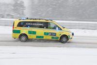 Två män avled under fredagen efter att de gått genom isen. Arkivbild.