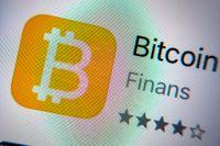 Bitcoin och andra kryptovalutor faller efter en tids kraftiga kurslyft. Arkivbild