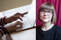 Författaren Sara Bergmark Elfgren är en av jurymedlemmarna i årets tappning av SvD:s Lilla litteraturpriset.