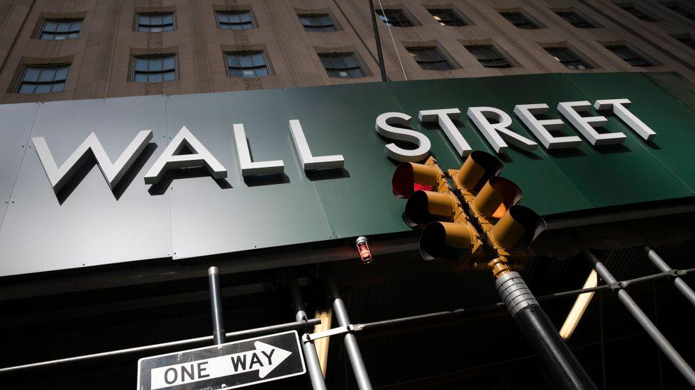 Det blev en stillsam avslutning på handelsveckan på Wall Street. Arkivbild