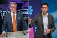 Göran Hägglund (KD) och Jimmie Åkesson (SD) deltar inte i lördagens Prideparad.