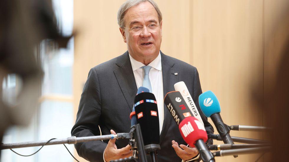 CDU:s nuvarande partiledare Armin Laschet.