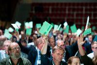 Centern röstar ja till Nato.