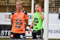 Kristianstads Moa Olsson (till höger). Arkivbild.