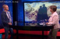 """Ur Aktuellts intervju med Joakim Ruist, där han satte """"tysthetsrekord"""" och valde att inte svara citatvänligt."""