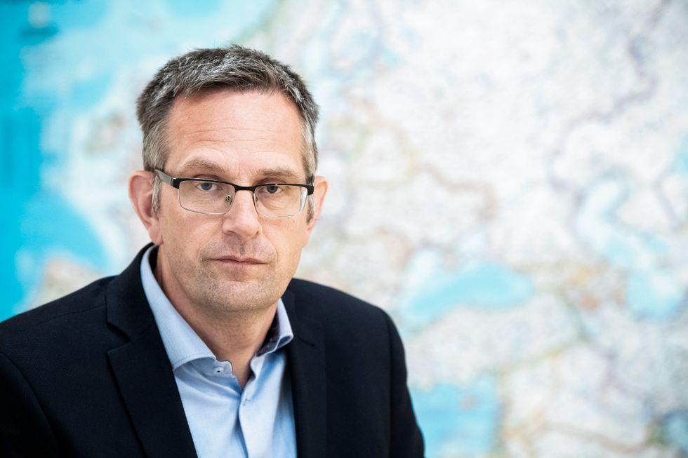 Jakob Hedenskog vid FOI.