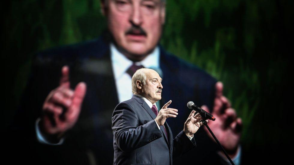 Aleksandr Lukasjenko, fruktad diktator i Belarus.
