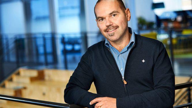 Stefan Trampus, affärsområdeschef på Tele2 Företag.