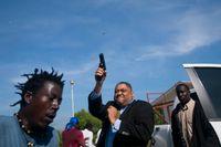 Händelsen fångad på bild av den skjutne AP-fotografen.