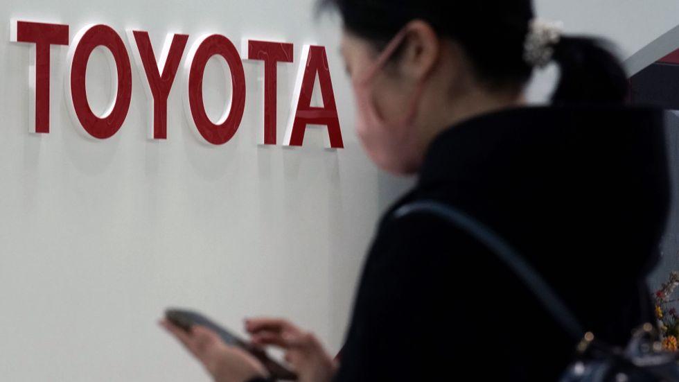 Lyft för Toyota. Arkivbild.