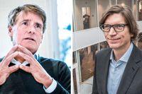 Christer Gardell och Niklas Zennström.