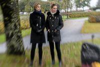 Dödsfallet i Skövde. Döttrarna Kajsa och Lina försöker få svar på hur deras pappa Stefan dog.