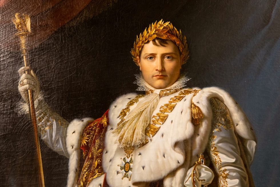 Napoleon Bonaparte, 1769- 1821, var Frankrikes kejsare från 1804 till 1815.