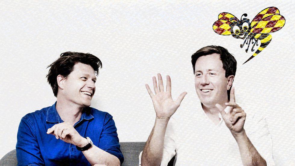 Eric Schüldt och Daniel Sjölin.