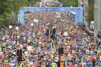 Årets Stockholm marathon ser ut att bli en varm historia. Arkivbild.