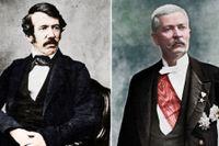 David Livingstone och Henry Morton Stanley.