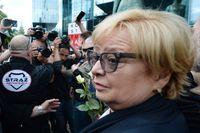 Chefsdomare Malgorzata Gersdorf vägrar pensionera sig. Arkivbild.