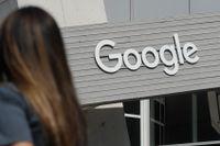 Googles campus i Kalifornien. Nu stäms bolaget av amerikanska justitiedepartementet.