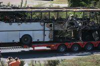 Bussen forslas bort efter dådet 2012. Arkivbild.