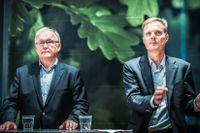 Swedbank styrelseordförande Göran Persson och vd Jens Henriksson.