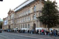 Ateneum i Helsingfors tar snart emot besökare med förhandsbokade biljetter. Arkivbild.