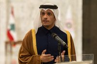 Qatars utrikesminister Mohammed bin Abdulrahman bin Jassim Al-Thani. Arkivbild.