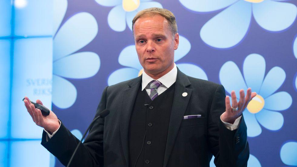 Stefan Jakobsson (SD). Arkivbild.