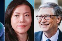 Daniel Ek, Yang Huiyan och Bill Gates är några av miljardärerna som tävlar med olika idéer.