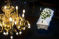 Oro inför coronaviruset får begravningsbesökare att lämna återbud. Arkivbild.