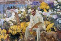 "Joaquin Sorolla, ""Louis Comfort Tiffany"", 1911."