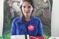 """Alexandra Ljungkvist Sjölin är svenskalärare i Sprintskolan i Liljeholmen. Hon har hjälpt sina elever att skriva ner sina minnen som en del av projektet """"Mitt Stockholm"""" under kulturåret för barn och unga som initierats av Kulturnämnden i Stockholm."""