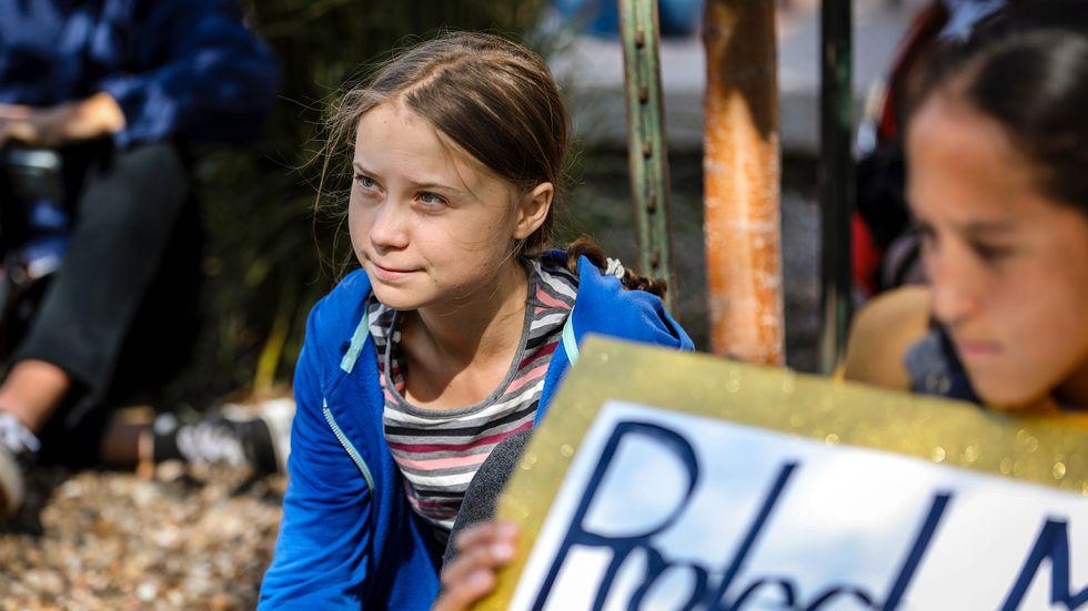 Greta Thunberg får ytterligare en utmärkelse för sitt klimatengagemang. Arkivbild.