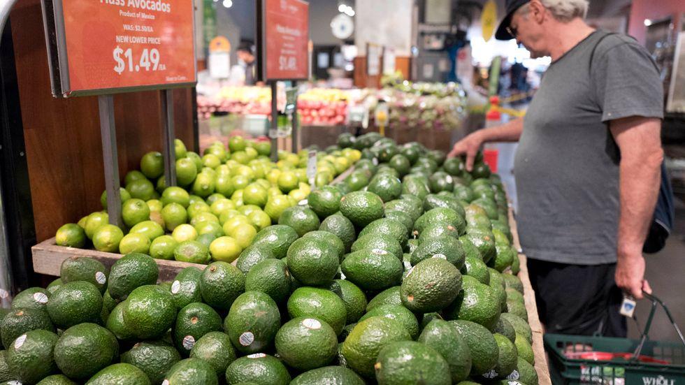 Högre priser på exempelvis livsmedel har bidragit till inflationsökningen i USA. Arkivbild.