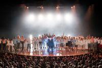 Benny Fredriksson hyllades på stora scenen med ett omväxlande program från moll till dur.