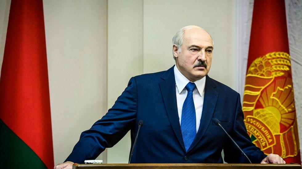 Belarus president Alexandr Lukasjenko. Arkivbild.