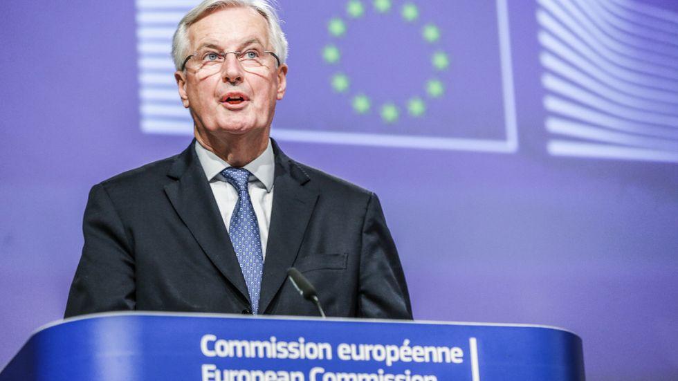 U:s chefsförhandlare Michel Barnier