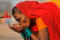 Många människor saknar tillgång till rent vatten. Arkivbild.