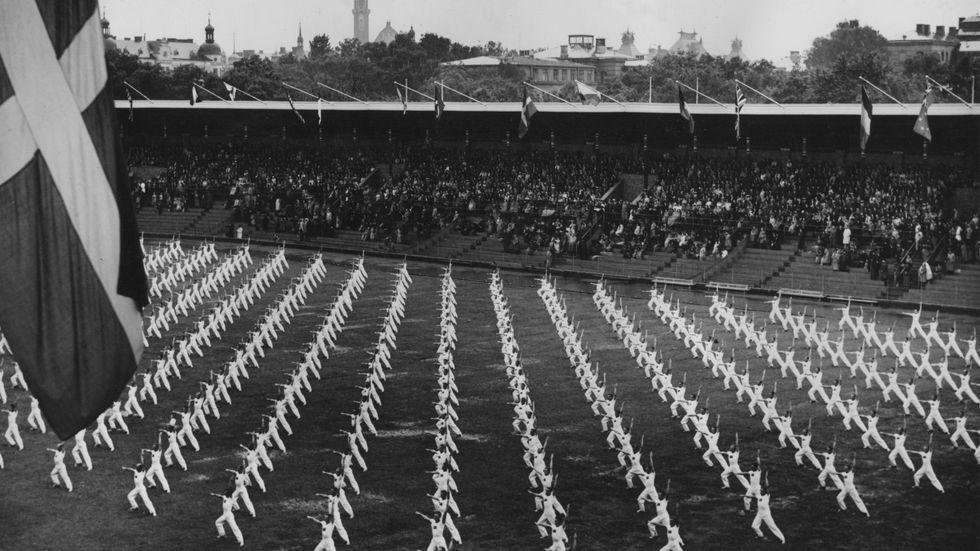 Lingiaden – ett gigantiskt evenemang som avgjordes två gånger på Stadion: 1939 och 1949.