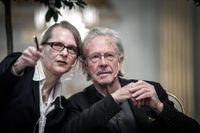 Peter Handke frågas ut i Stockholm.